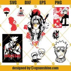 Naruto Bundle Svg, Anime Svg, Itachi Svg, Sasuke Svg, Kakashi Svg, Naruto Svg