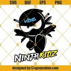 Ninja Kidz Svg, Ninja Kidz Tv Svg, Ninja Svg