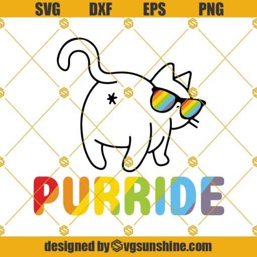 Purride Cat Svg