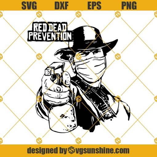 Red Dead Prevention SVG