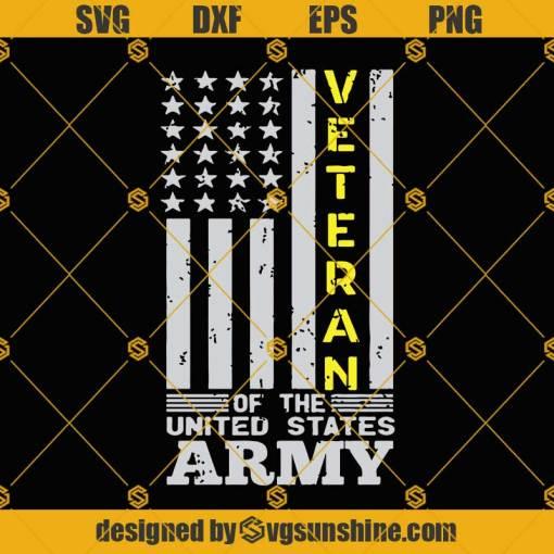 Veteran of The United States SVG, Army SVG, Veterans day SVG, Veteran Flag SVG