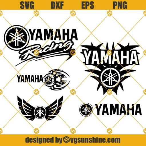 YAMAHA SVG, Yamaha Racing SVG, Yamaha Logo SVG, Yamaha SVG Bundle