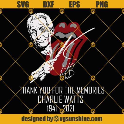 Charlie Watts SVG