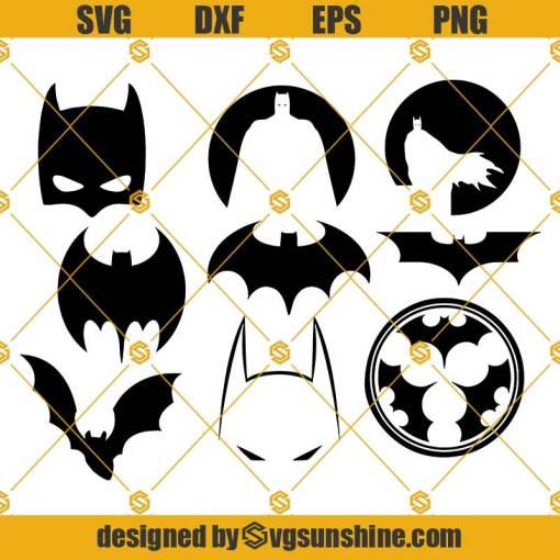 Batman Bundle SVG For Cricut, Batman SVG
