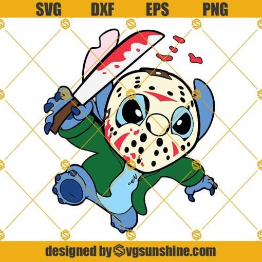 Stitch Jason Voorhees SVG