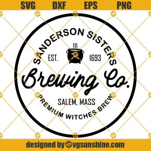 Sanderson Sisters Brewing Co SVG