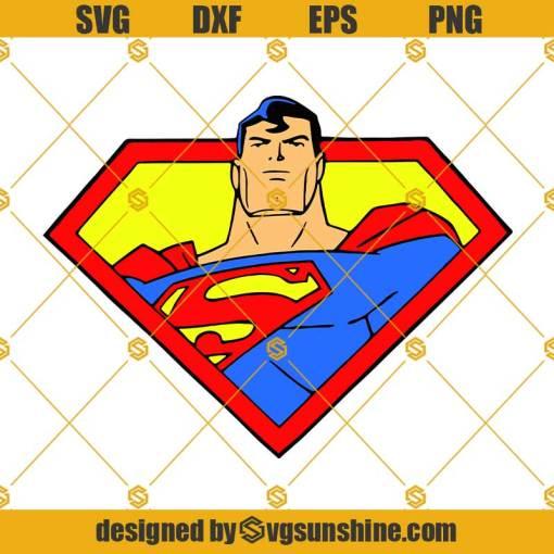 Superman Logo SVG, Supeman SVG