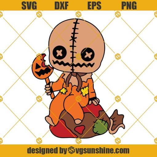 Trick R Treat Sam SVG, Trick r Treat Layered SVG Cut file, Halloween SVG, Horror SVG