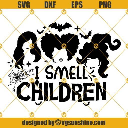 I Smell Children SVG Hocus Pocus SVG Disney Halloween SVG