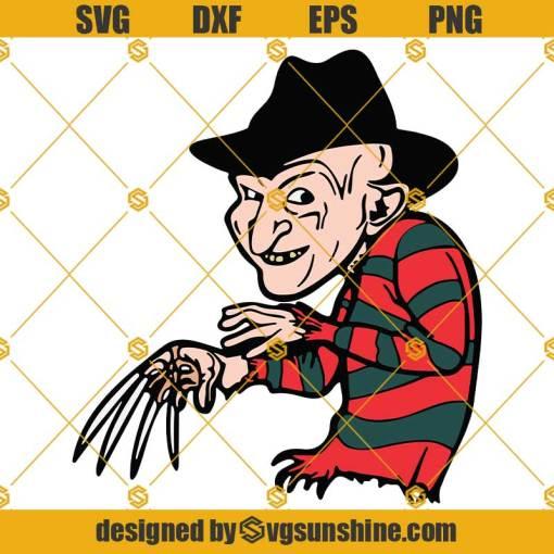 Freddy Krueger SVG Halloween SVG Funny Freddy Krueger SVG