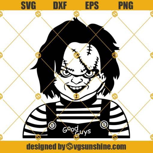 Chucky SVG Childs Play SVG, Chucky SVG, Chucky Horror Movie Killers Halloween SVG