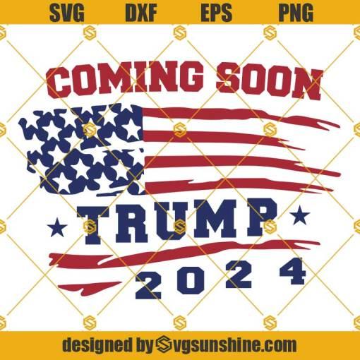 Trump 2024 American Flag SVG, Donald Trump SVG, Trump SVG
