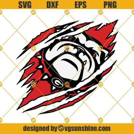Georgia Bulldog SVG, Georgia Bulldogs Sports SVG PNG DXF EPS