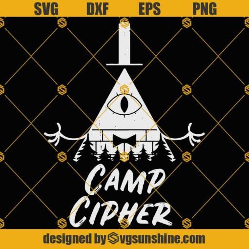 Gravity Falls SVG, Camp Bill Cipher SVG, Camping SVG, Bill Cipher SVG