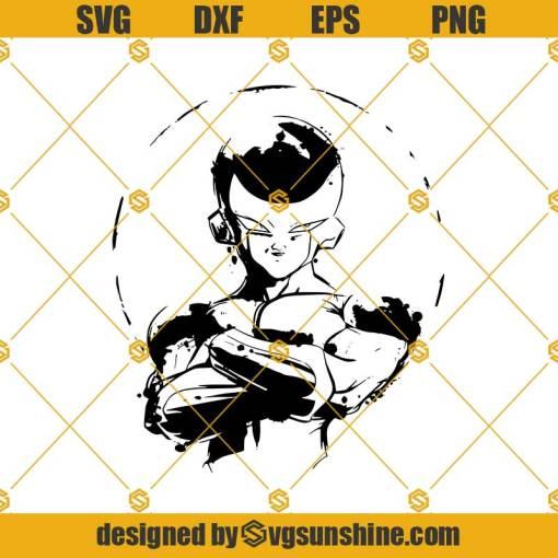 Frieza SVG, Dragon ball Z SVG, Dragon Ball Super SVG Frieza Cut Files For Cricut Silhouette Cameo