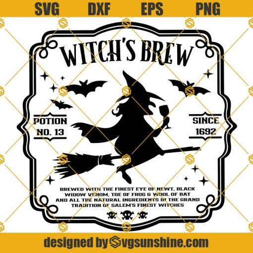 Witchs Brew SVG, Witches Brew SVG, Halloween SVG