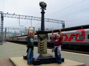 Finished the Trans Siberian train