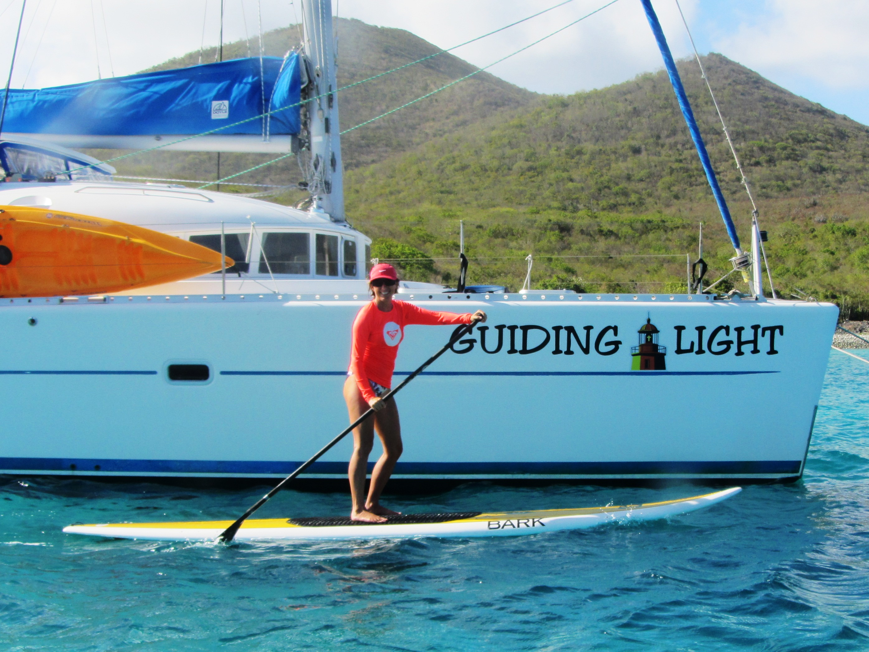 SUP with the Guiding Light