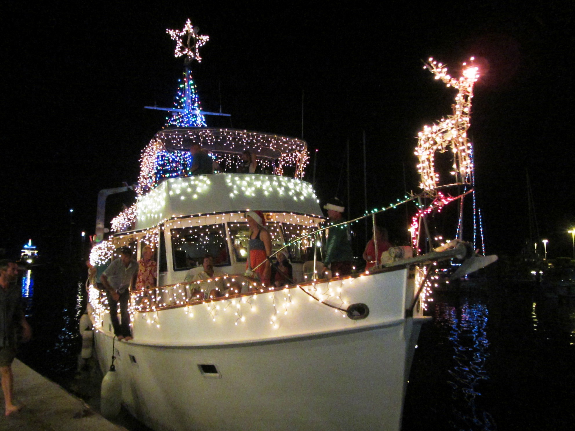 Boat in the parade