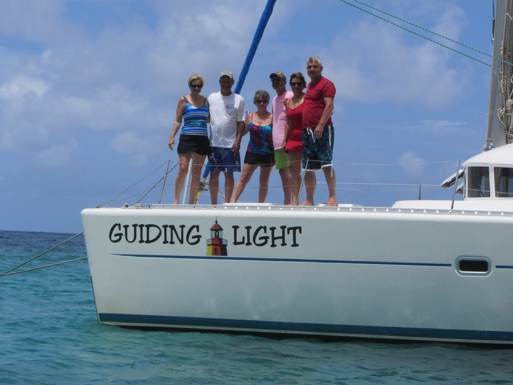Showing of the Guiding Light