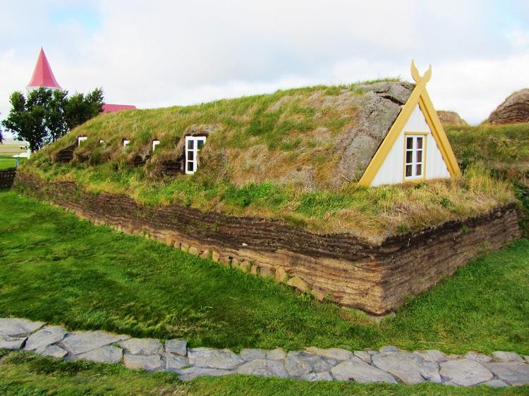 Iceland - 6 Glaumbaer Turf House - Exterior - Badstofa