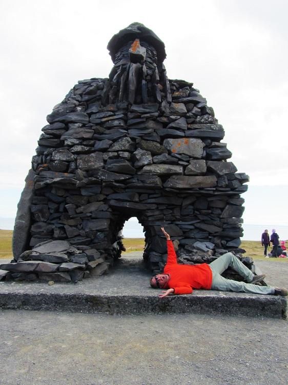 Iceland - 7 Amarstapi Hike - Me Stomped On By Troll