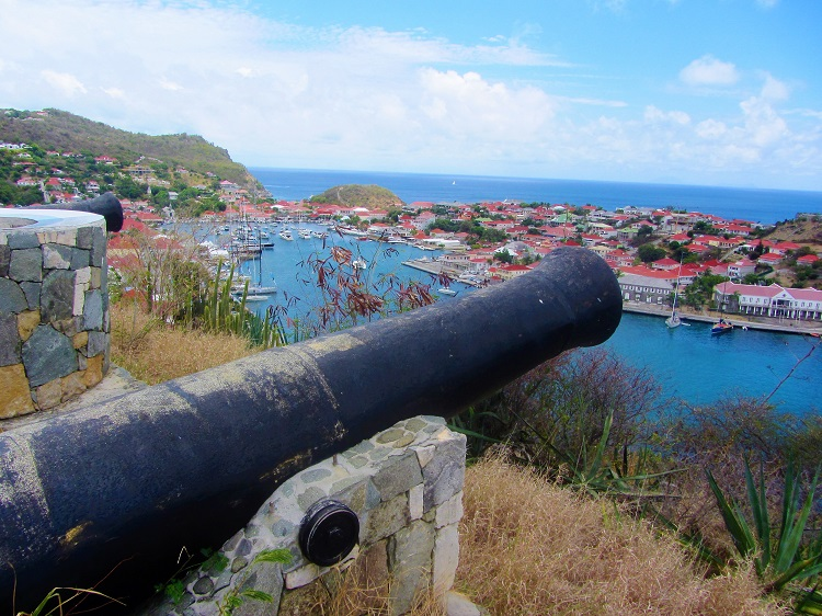 Gustavia Harbor From Fort