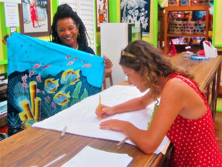 St Kitts - Romney Manor - Melek Helping