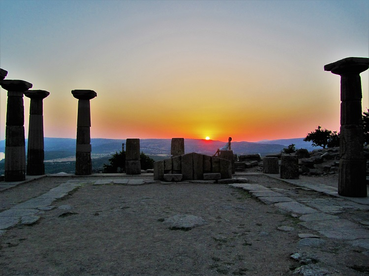 Athena Temple in Assos