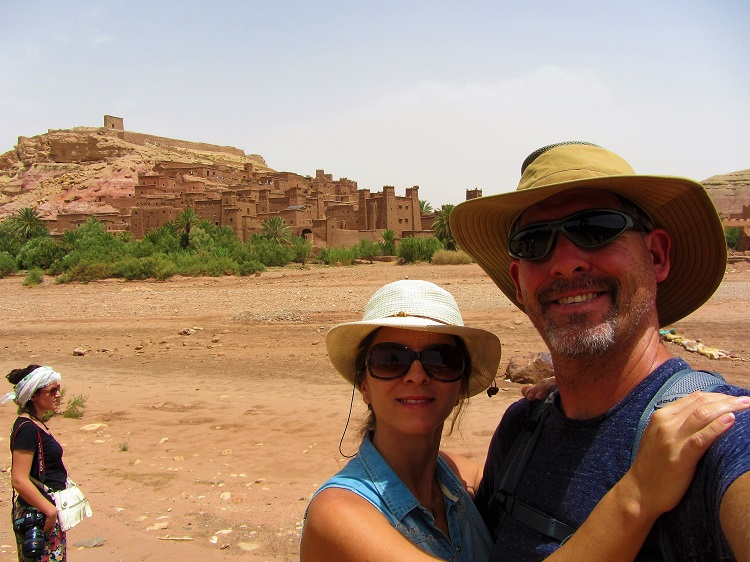 Going into Ait Benhaddou
