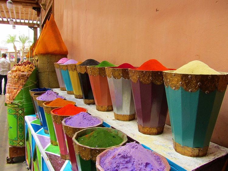 Morocco - Colored Powders