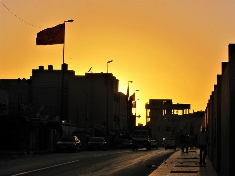Morocco - Laayoune Sunset