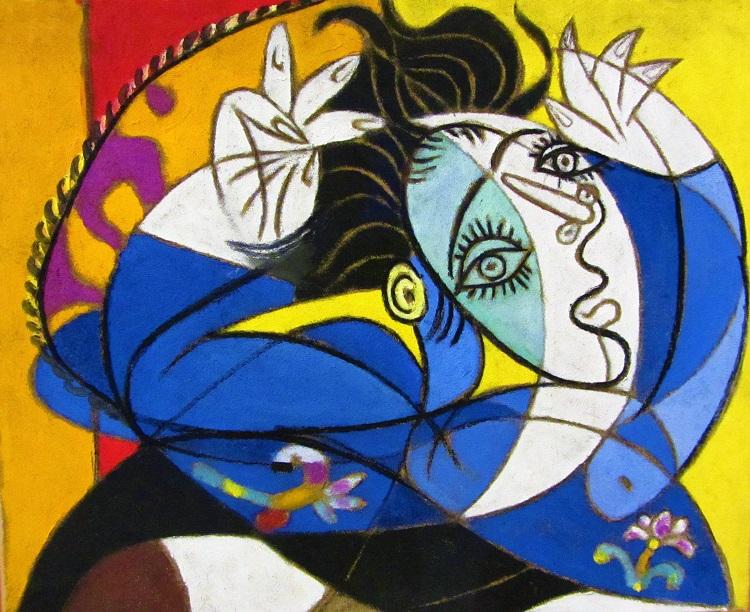 Picasso artwork in Malaga