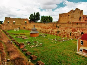 Italy - Ancient Rome - Palatine Hill 1