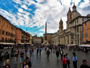 Exploring Rome - Piazza Novano 1
