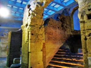 Exploring Rome - Piazza Novano 5 - Ruins
