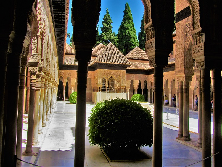 POTD - Spain - Granada - Alhambra Courtyard