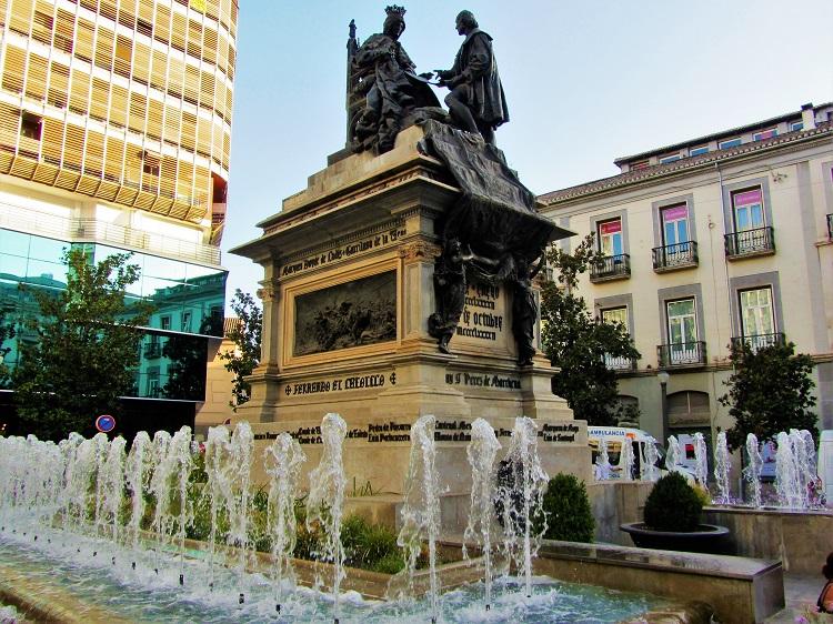 POTD - Spain - Granada - Columbus Monument