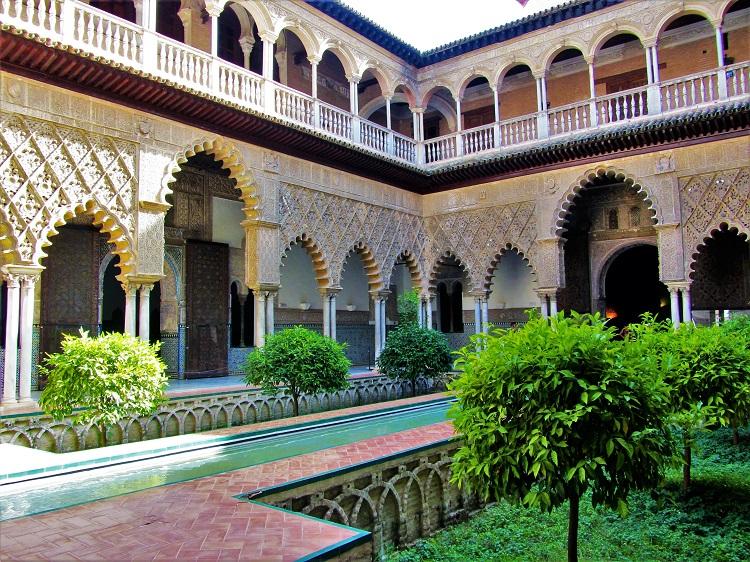 POTD - Spain - Seville - Alcazar Courtyard