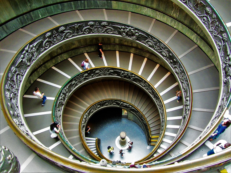 POTD - Vatican City Spiral Stairs