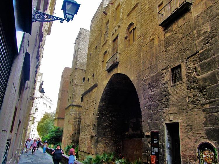 Spain - Barcelona - Roman City Wall