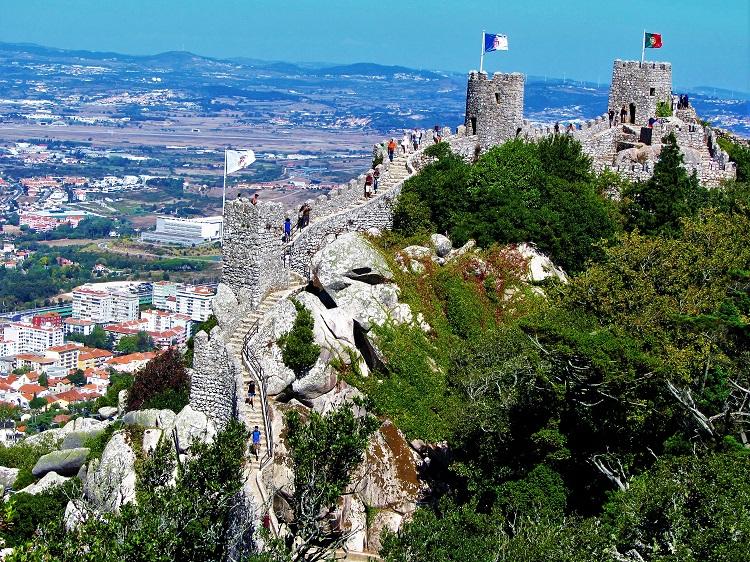 POTD - Portugal - Sintra - Moorish Castle