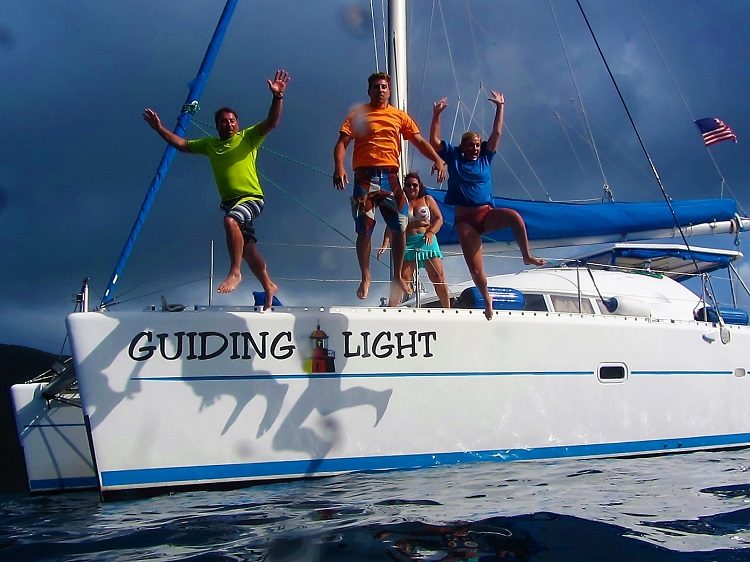 Charter Jumping Off the Guiding Light