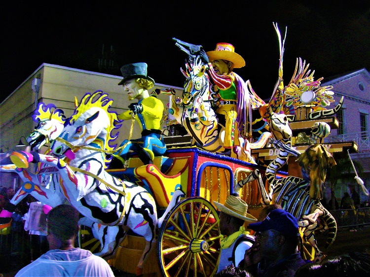 Junkanoo - Wild West Final Float