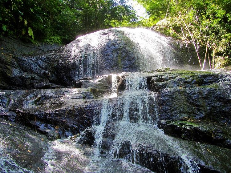 Anse La Raye waterfall