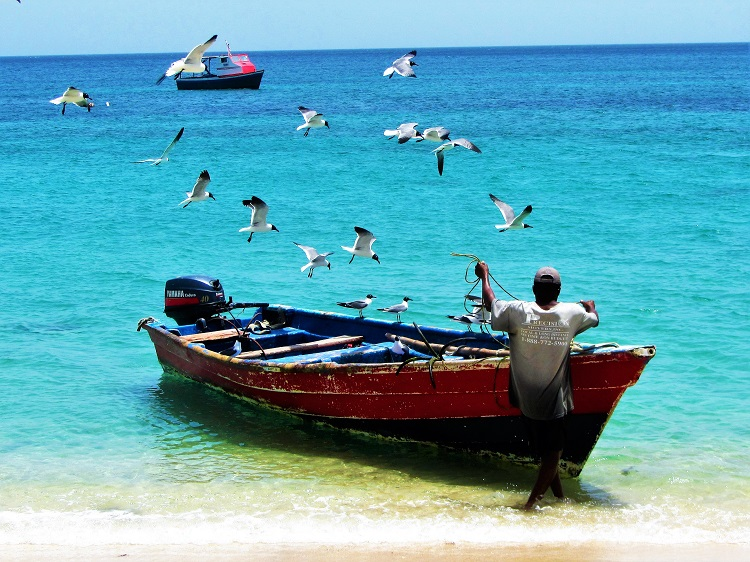 Local fishing boat from Carriacou