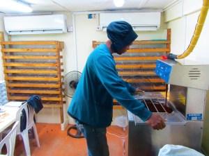 Grenada Chocolate Company - making chocolate