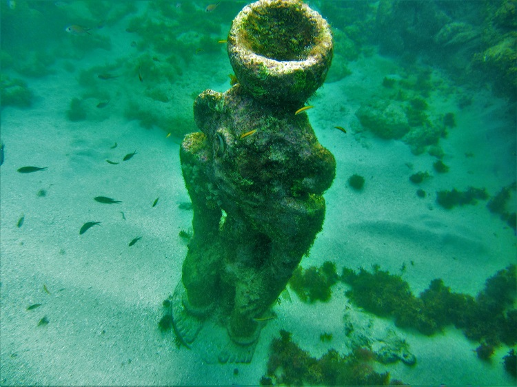 POTD - Cruising - Grenada - Underwater Sculpture - Monkey
