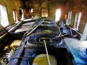 River Antoine Rum fermenting