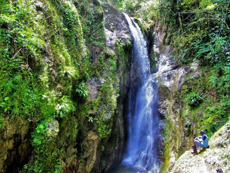 Highland waterfall
